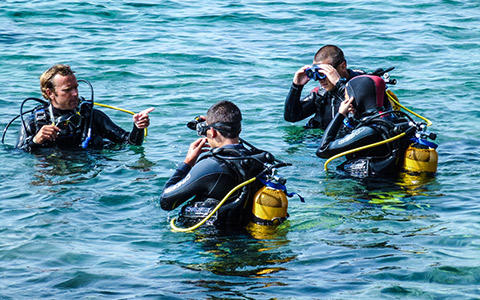 padi advanced open water formation antibes